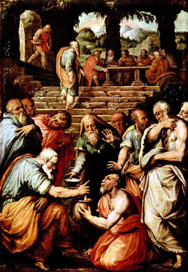 Pintura de Eliseu para exemplificação do item