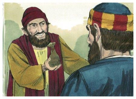 Ilustração de Simão para exemplificação do item