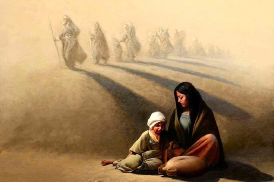 Agar – História e representações da personagem bíblica