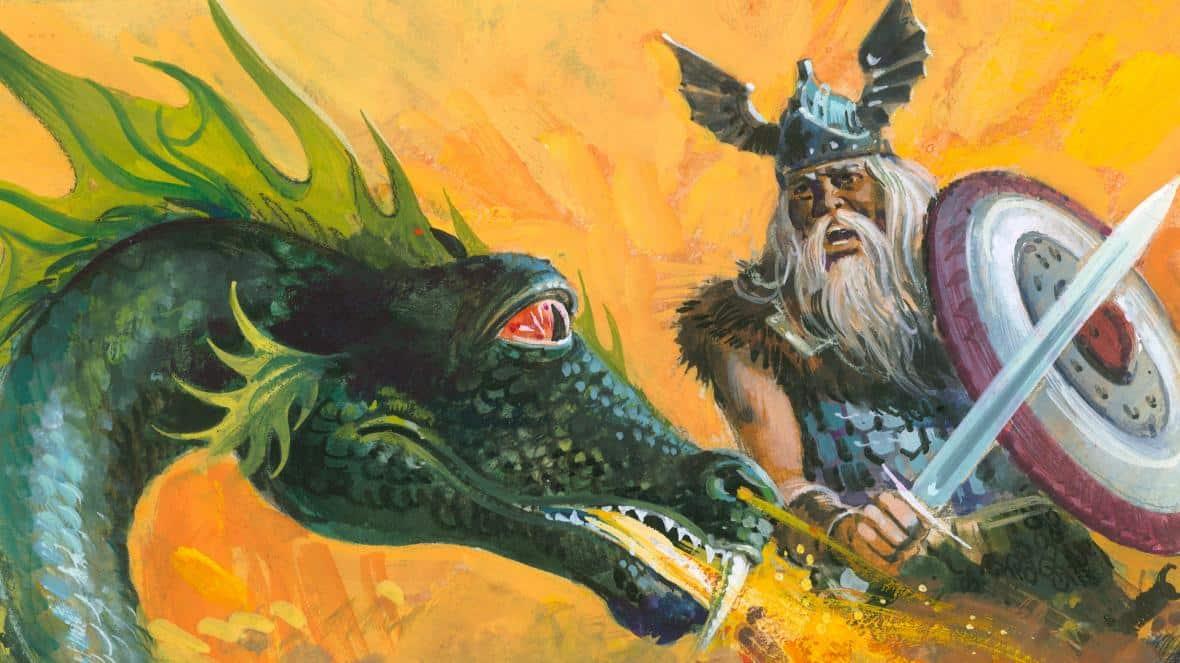 Beowulf - a lenda do poema épico redigido durante a Idade Média