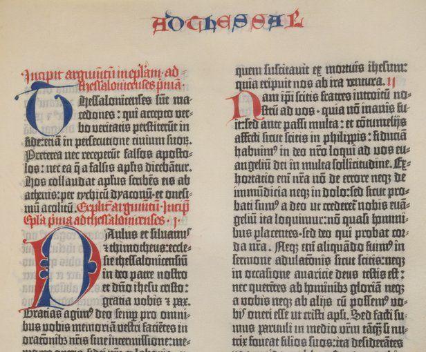 Bíblia de Gutemberg - história do primeiro livro impresso no Ocidente