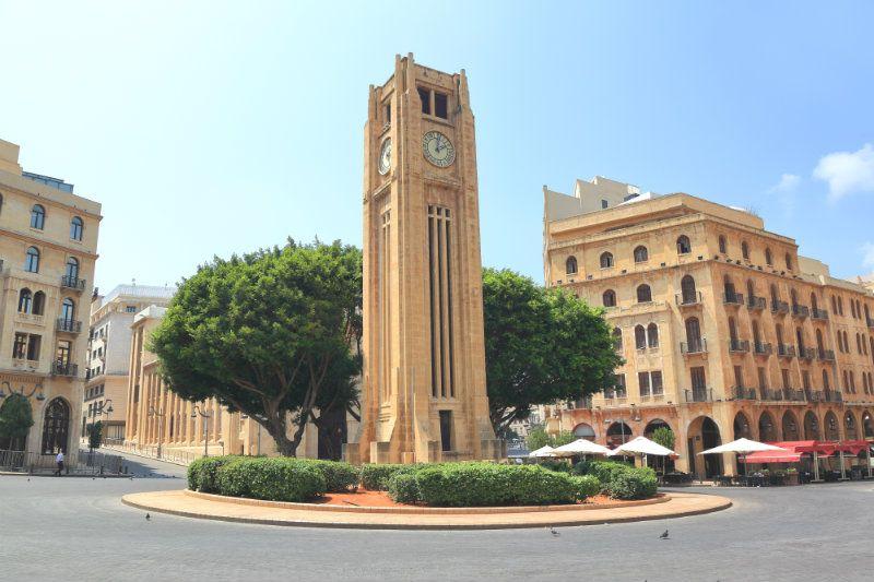 Fotografia de Beirute para ilustração do item