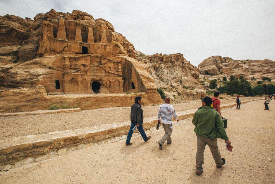 Cidade Rosa - a cidade da Jordânia cenário de filmes e novelas