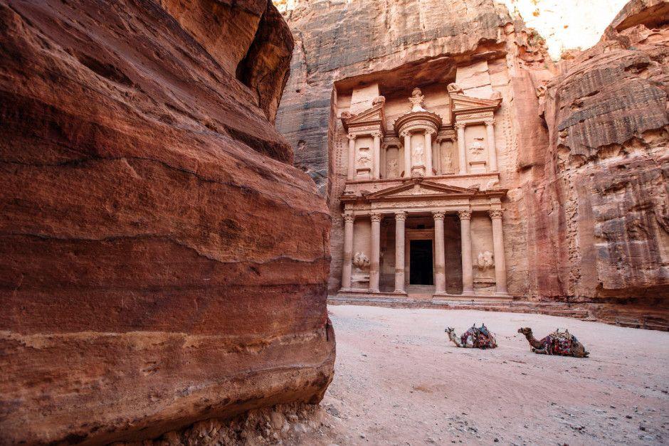 Cidade Rosa, a cidade da Jordânia que é cenário de filmes e novelas