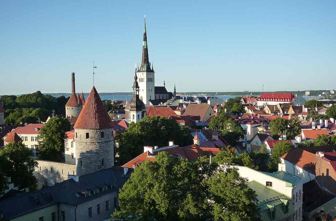 Fotografia de Talinn, na Estônia, para ilustração do item