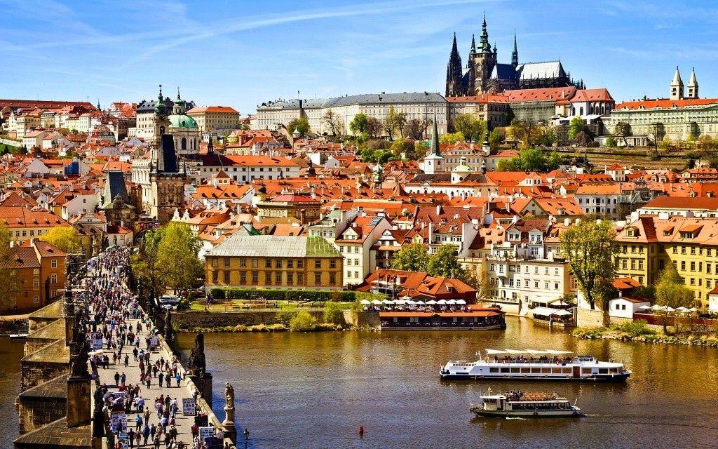 Fotografia de Praga, na República Tcheca, para ilustração do item