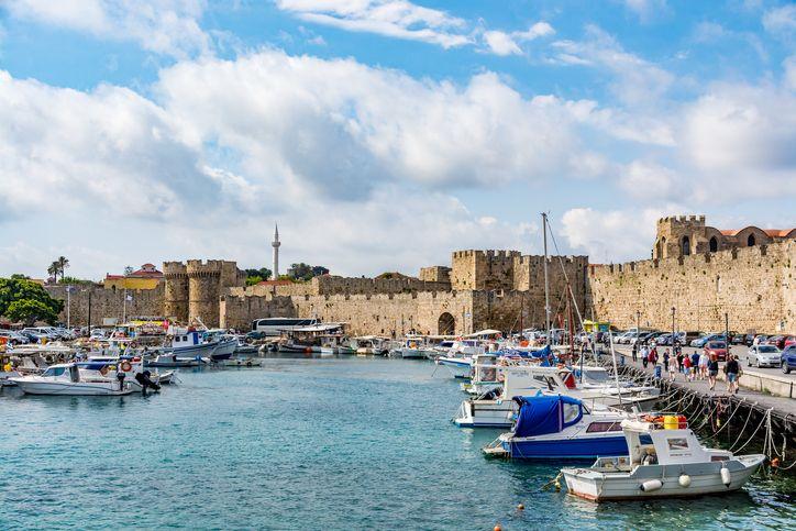 Fotografia de Rhodes, na Grécia, para ilustração do item
