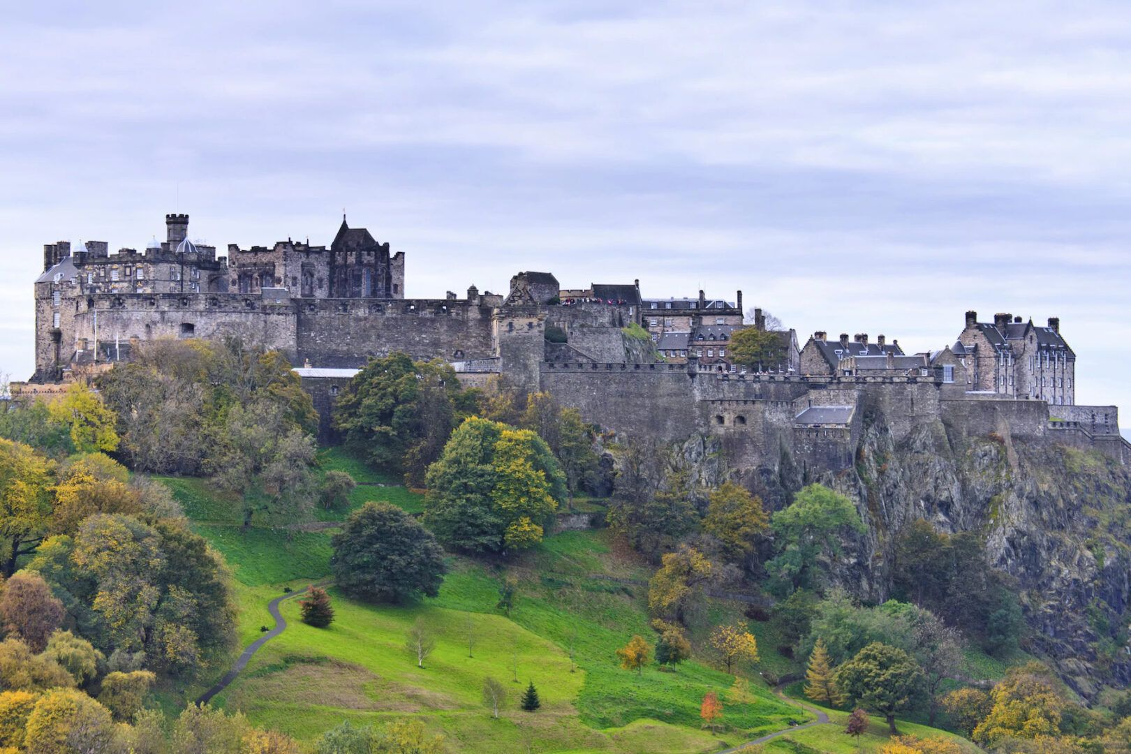 Fotografia de Edimburgo, na Escócia, para ilustração do item