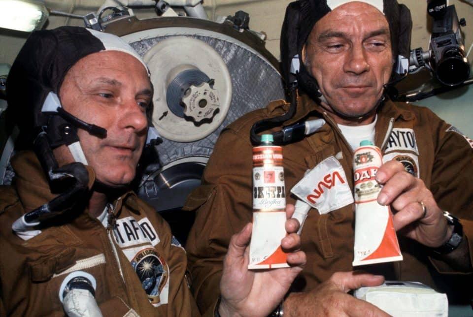 Comida de astronauta – O que pode ou não pode ser levado para o espaço