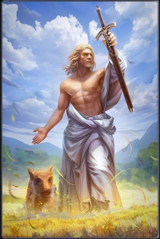 Freyr, deus da fertilidade – Um dos principais deuses da mitologia nórdica