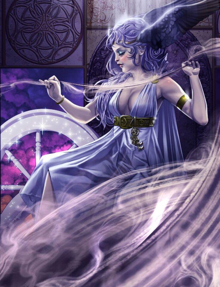 Frigga, a deusa-mãe, uma das mais importantes da mitologia nórdica