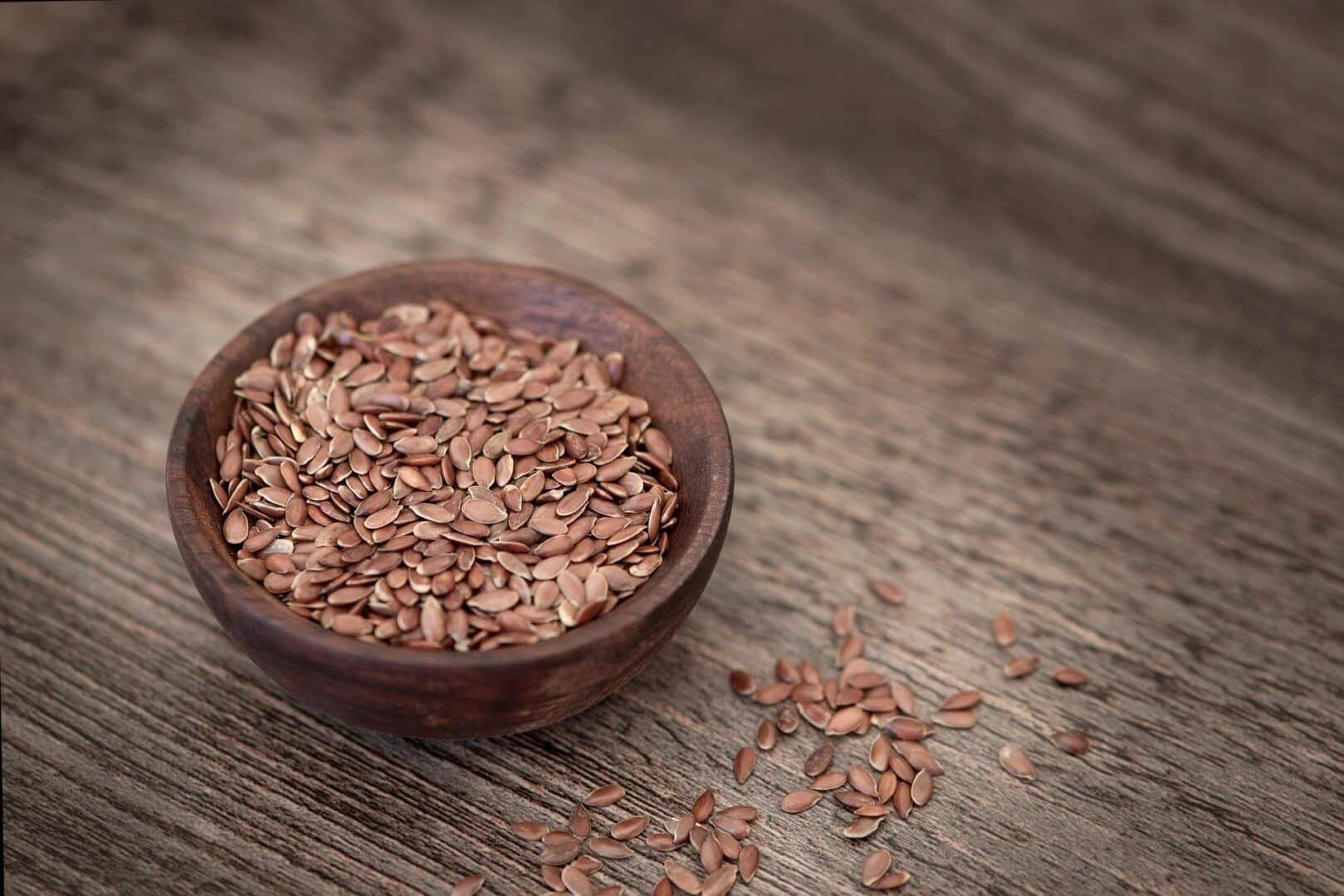 Fotografia de um pote de sementes para ilustração do item