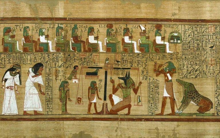 Livro dos Mortos – História dos textos funerários do Egito