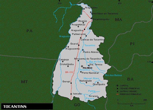 Maiores estados do Brasil - 12 maiores territórios dentro do país