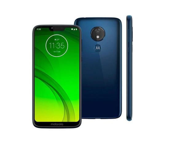 Fotografia do Motorola Moto G7 Power para ilustração do item