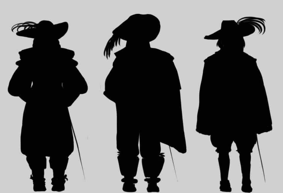 Os Três Mosqueteiros – Origem dos heróis de Alexandre Dumas