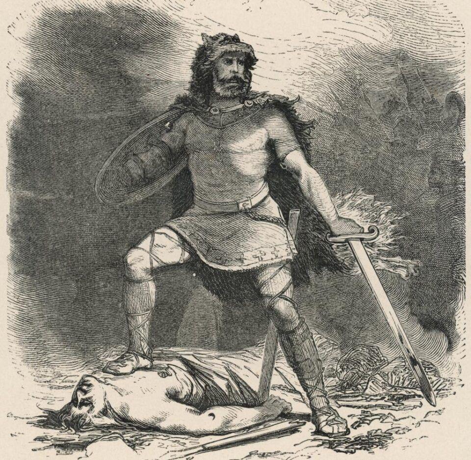 Tyr, o deus da guerra, considerado o mais corajoso da mitologia nórdica