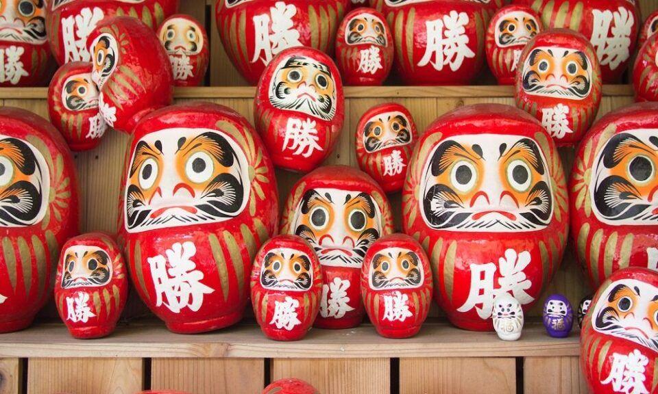 Daruma – história e curiosidades sobre este símbolo do Japão