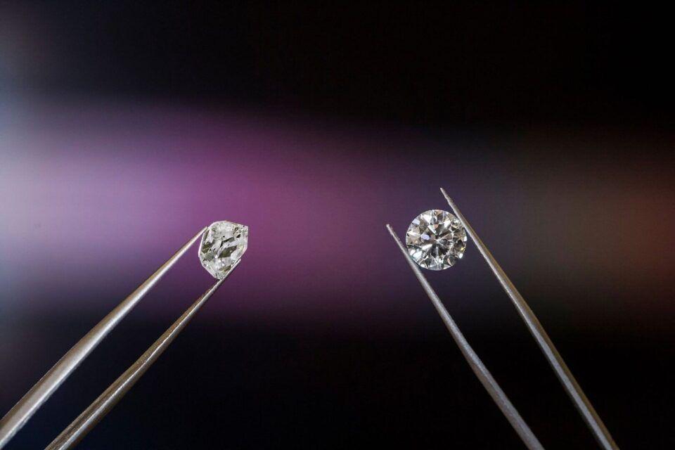 Diferença entre diamante e brilhante, como determinar?