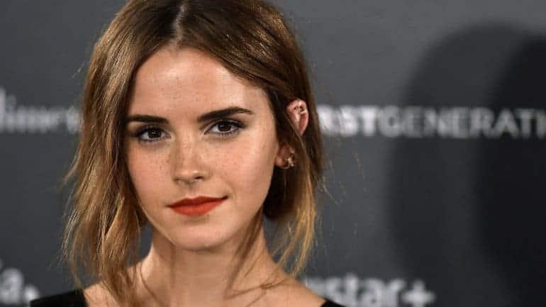 Fotografia da Emma Watson para ilustração do item