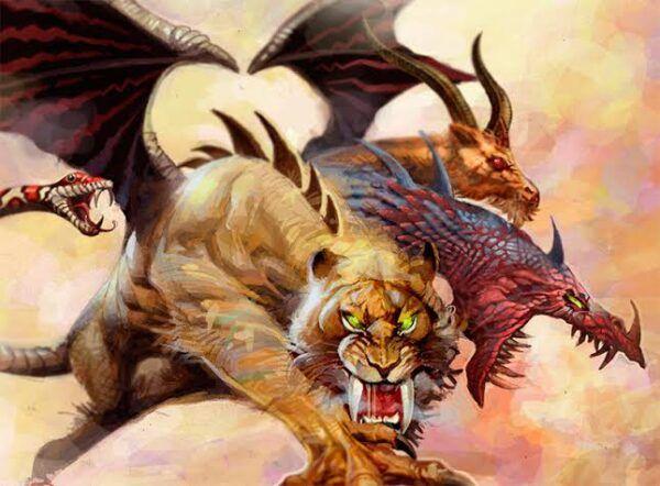 Quimera – Origem, história e simbologia desse monstro mitológico