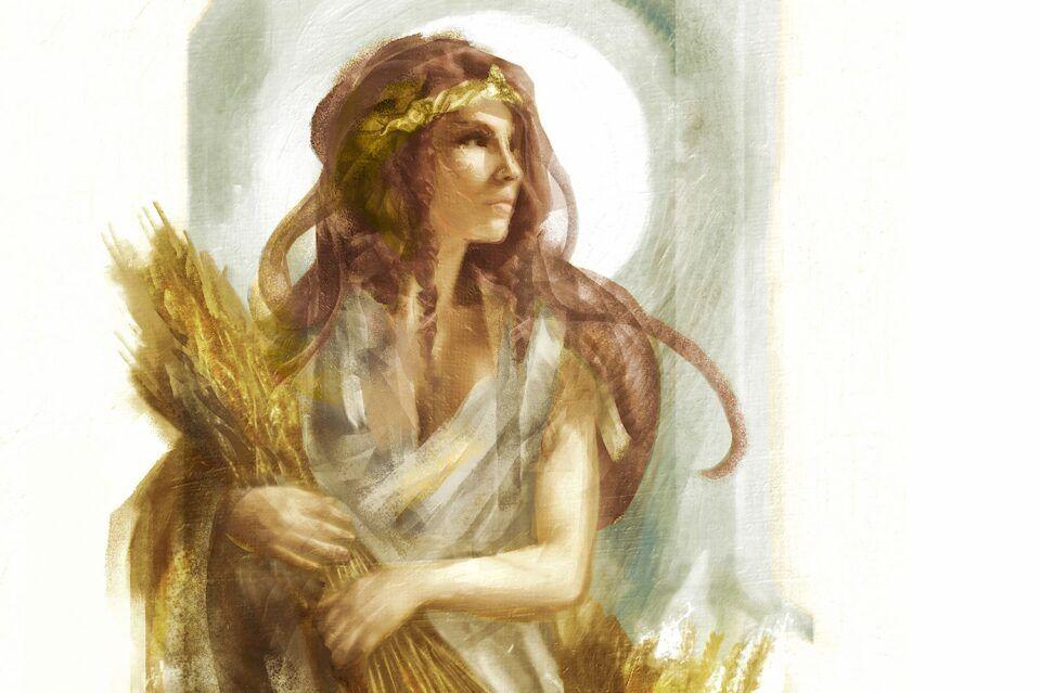 Sif, a deusa nórdica da fertilidade da colheita e esposa de Thor