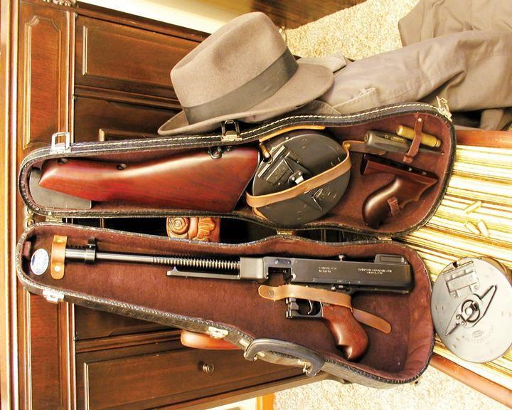Tommy Gun - origem e curiosidades sobre a arma de Al Capone