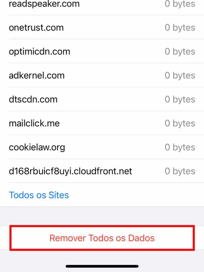 Como apagar histórico do Safari no iPhone ou Mac