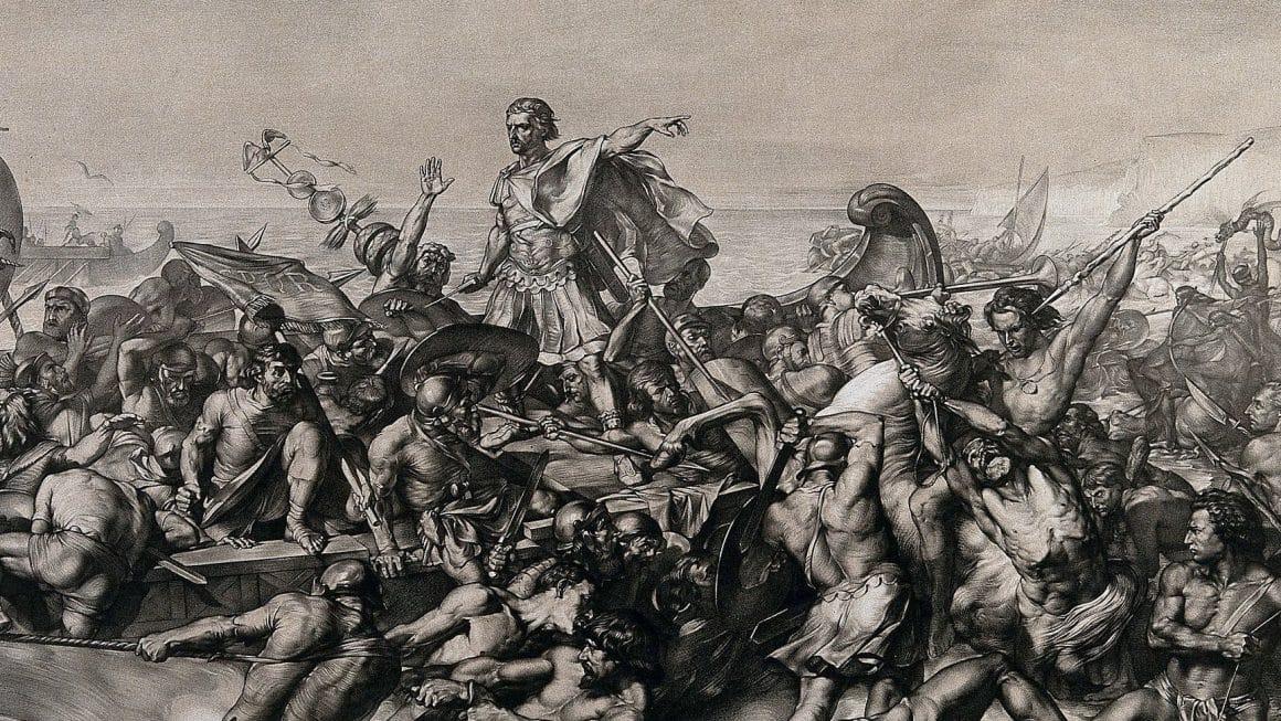 Ilustração da expedição à Britannia