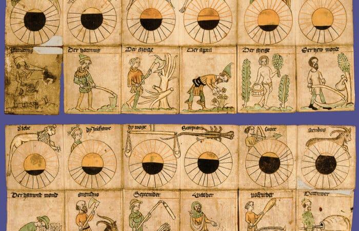 Ilustração calendário juliano