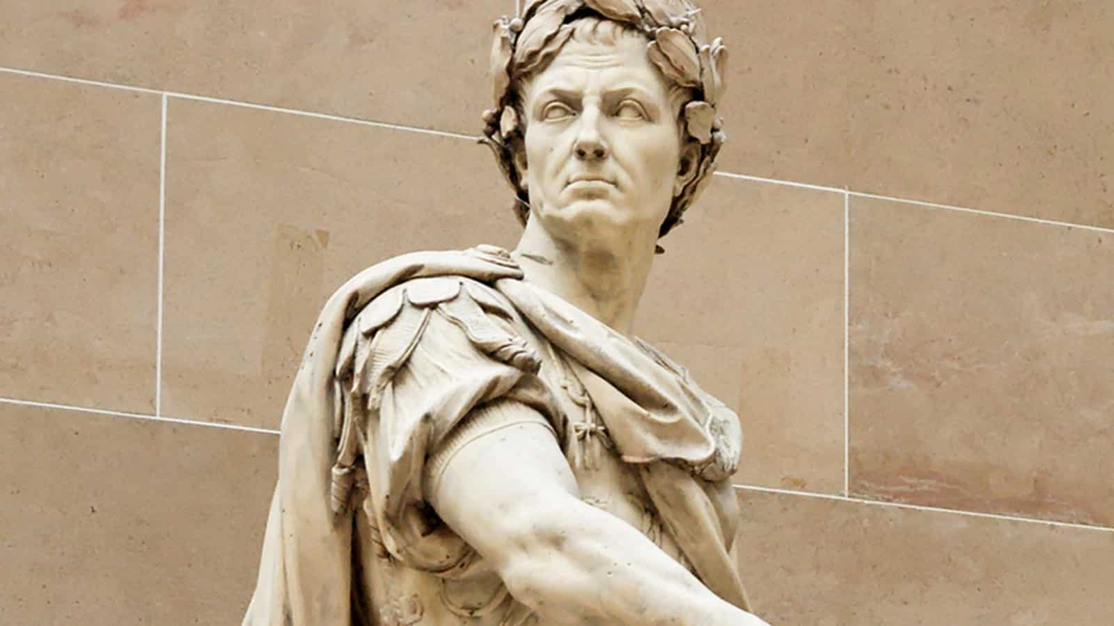 Estátua da figura historica