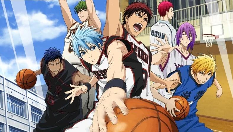 Fotografia do anime Kuroko no Basket