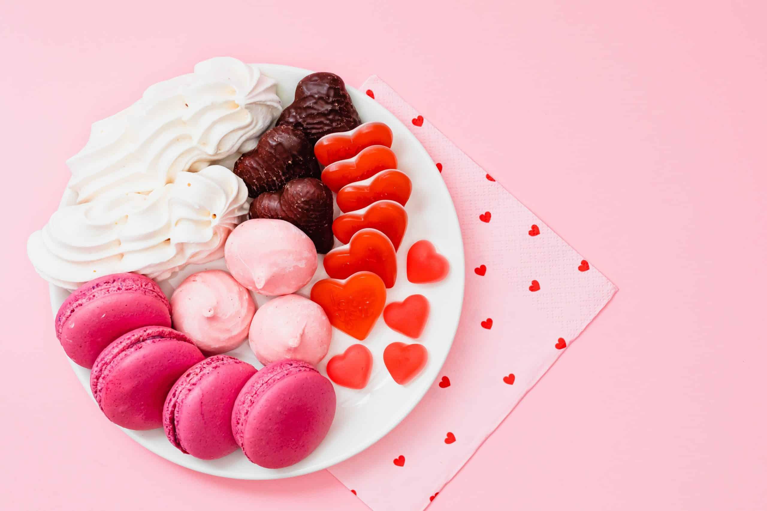 Fotografia de um prato de doce