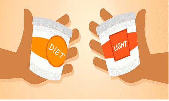 Quais são as diferenças entre light e diet? Como diferenciar?