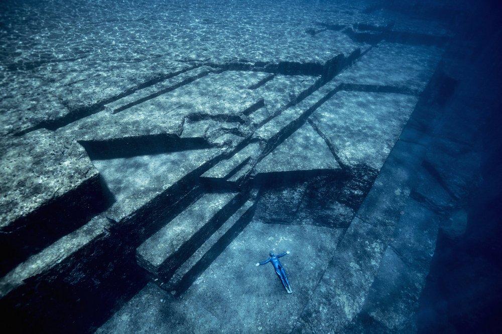 Fotografia de estruturas descobertas
