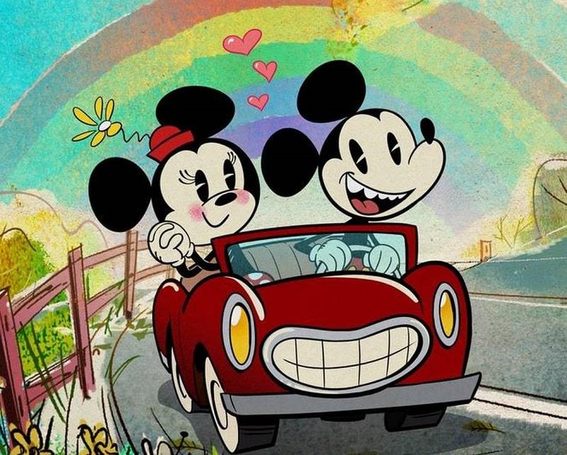 Ilustração do protagonista da Disney