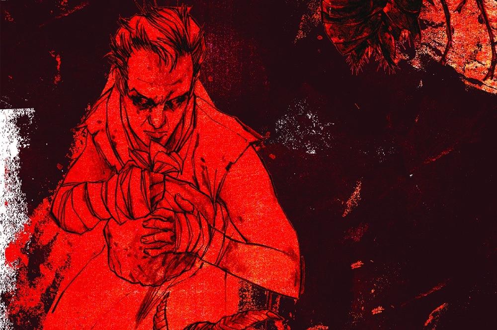 Ilustração do personagem mitológico