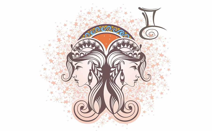 Ilustração representativa do símbolo astral do signo