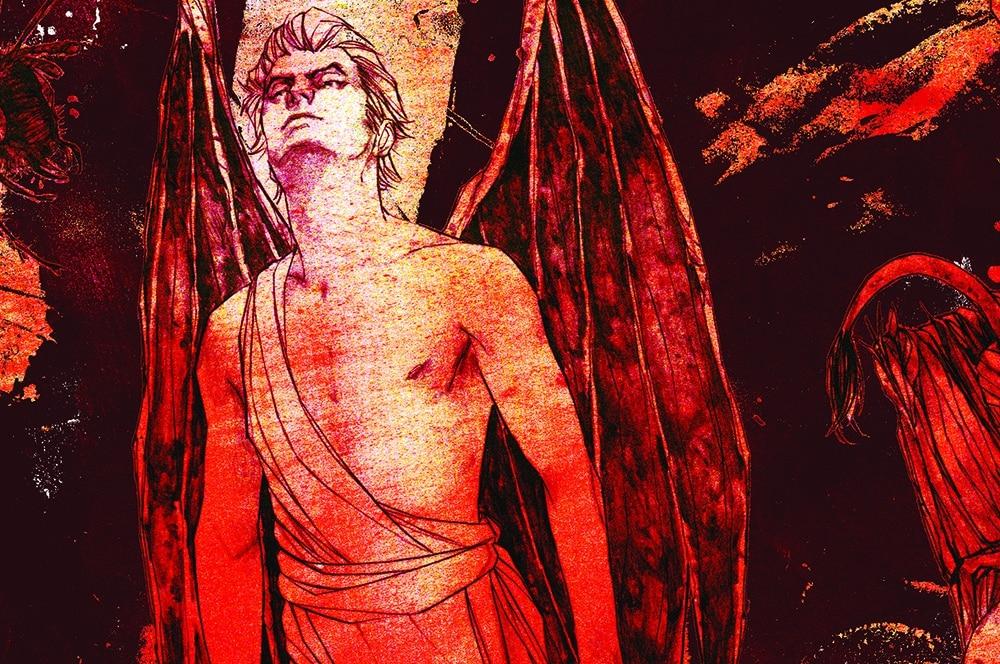 Ilustração de um dos demônios