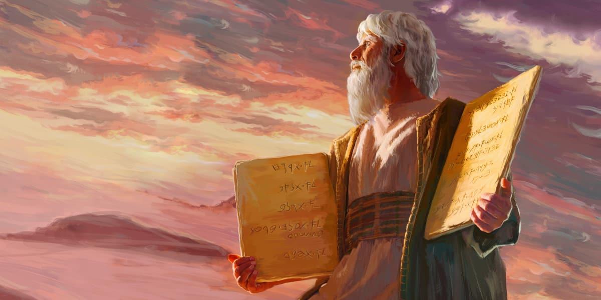 Ilustração de Moisés