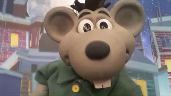 Fotografia do personagem ilustrado
