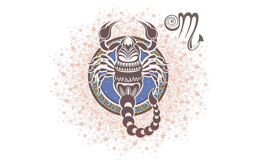 Ilustração do zodíaco
